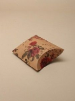 Rose print medium pillow gift box (Code 2348)